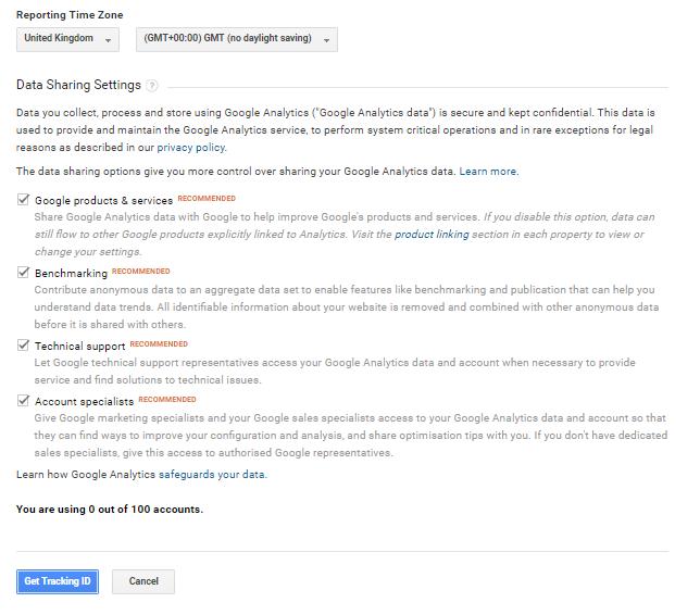 גוגל אנליטיקס שלב3