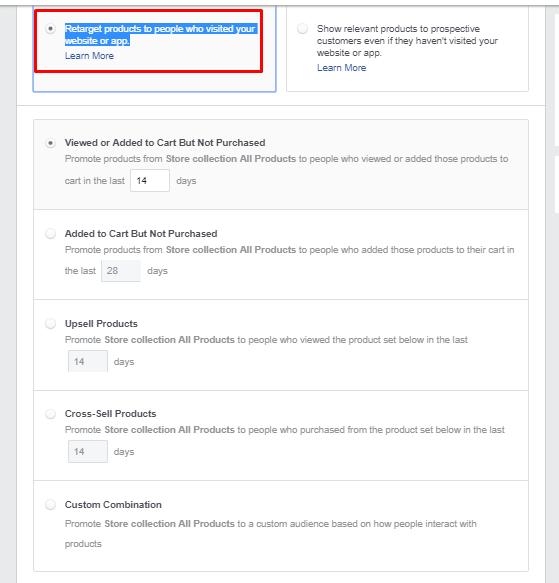 מודעות קטלוג מוצרים פייסבוק 2