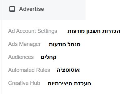 איך להקים חשבון פייסבוק עסקי