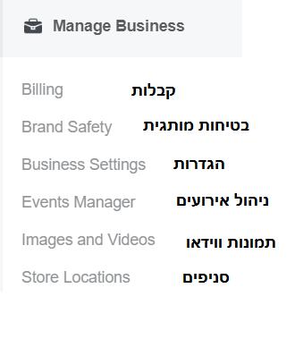 מדריך פייסבוק עסקי