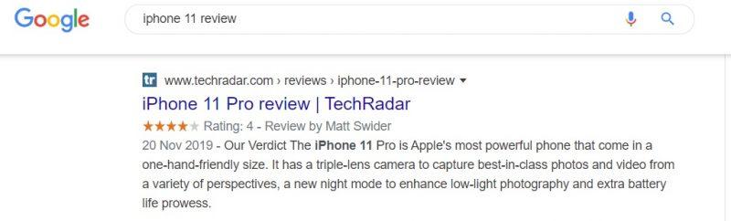 סניפטים בדפי החיפוש של גוגל