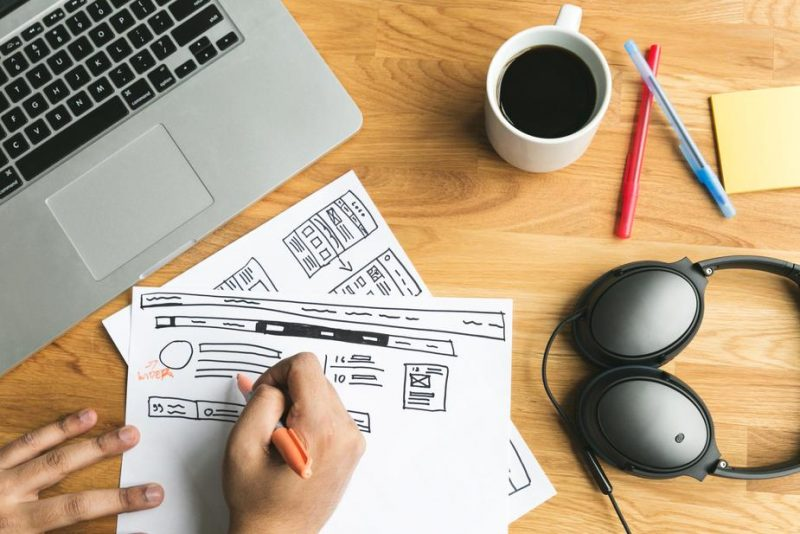 עיצוב האתר ושיפור יחסי המרה